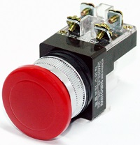 hanyoung Emergency Flush red 25mm e